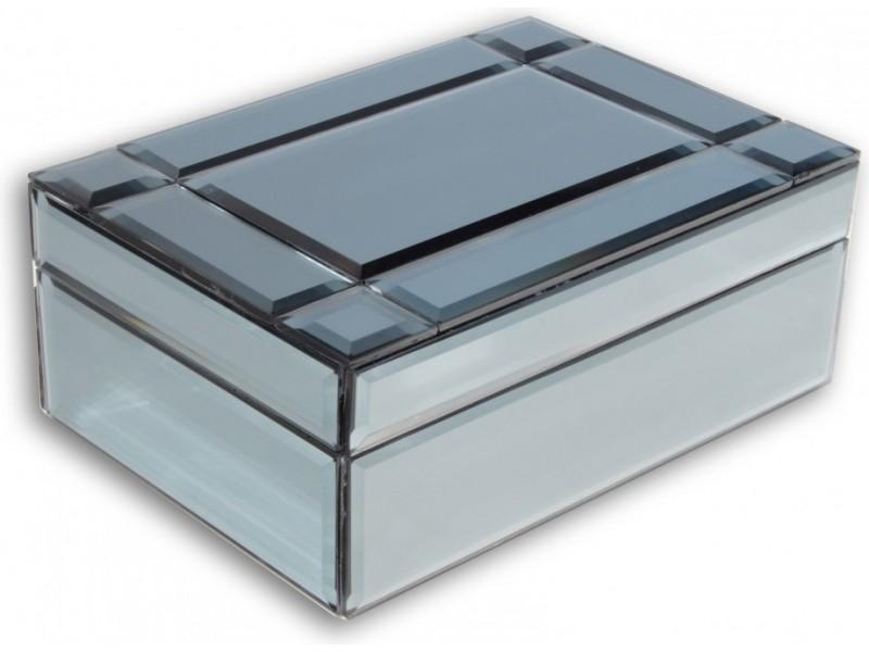Szklana szkatułka na biżuterię Paris
