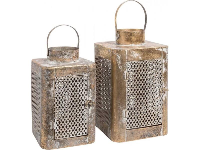 Lampion Belldeco Metalowy Orientalny Barok Old prosty 2