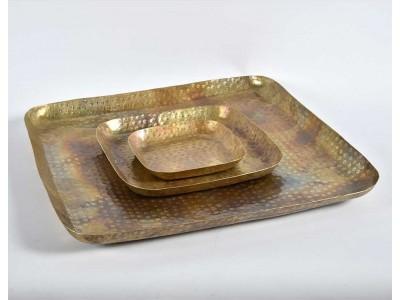Barok Old Patera kwadrat złota C