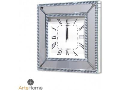 Zegar lustrzany ścienny Della AH-5028