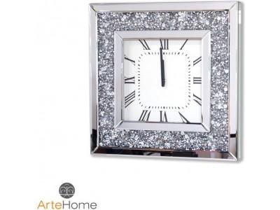 Zegar ścienny glamour Alviano AH-5085