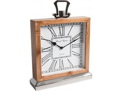Gabinet zegarek stołowy drewno