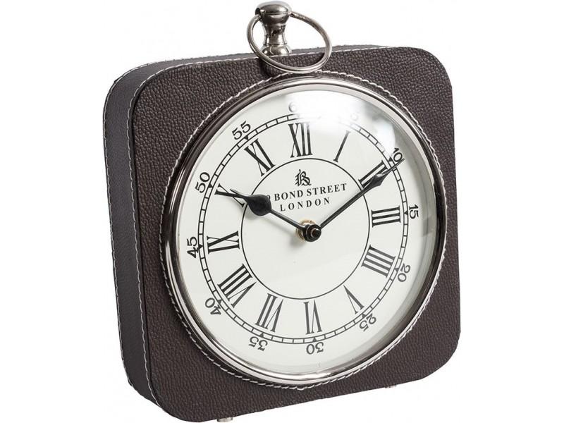 Gabinet zegarek stołowy skóra 3